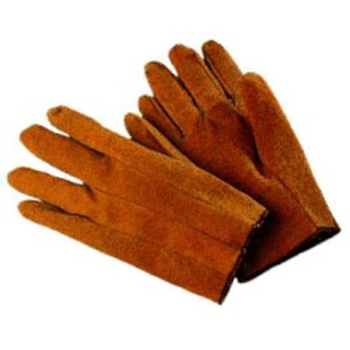 Brown Vinyl Gloves, Mens