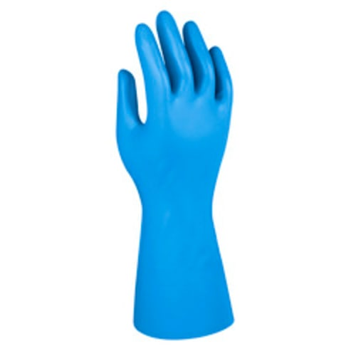 GLOVES,NITRILE BLUE
