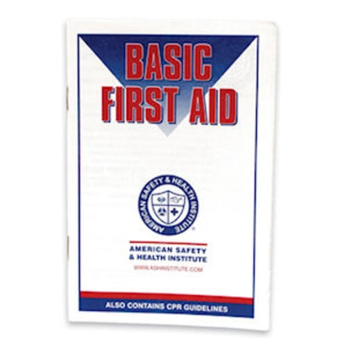 Booklet First Aid Guide
