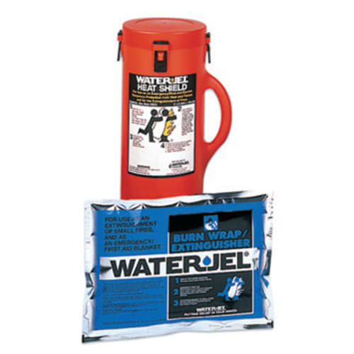 Water-Jel Fire Blanket, 5 ft W X 6 ft L