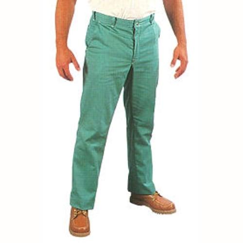 Flame-Resistant Green Sateen Pants