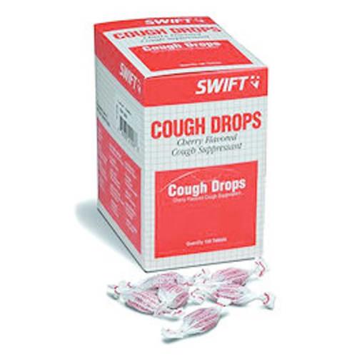 First Aid Non-Aspirin Cherry Cough Drops