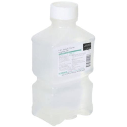 First Aid Normal Saline, 1000 ml