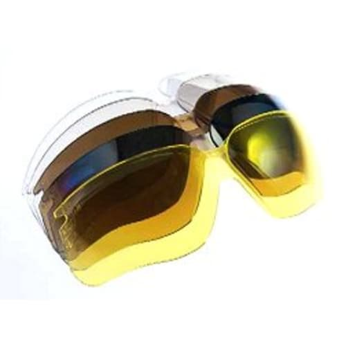 Genesis Replacement Protective lens, Espresso, Polycarbonate