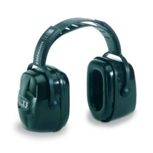 Howard Leight Thunder T3 Head Band Noise Blocking Ear Muff, 30 dB, Polypropylene, Black