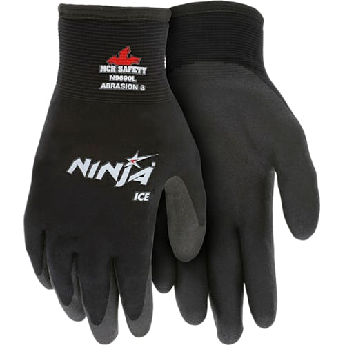 Memphis Ninja Ice Gloves - HPT Coated for Cold Weather