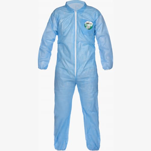 Elastic Wrist/Ankle Coverall, Blue