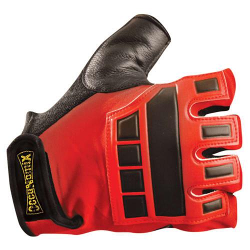 Premium Embossed back gel gloves