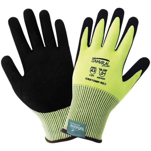 Samurai High-Visibility Cut Resistant Gloves