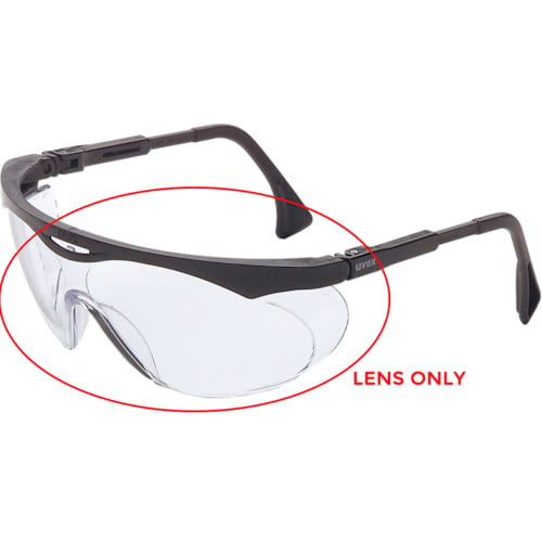Lens Color Clear, Lens Material Polycarbonate, Lens Coating Uv-Extreme Anti-Fog, Replacement Lens Only
