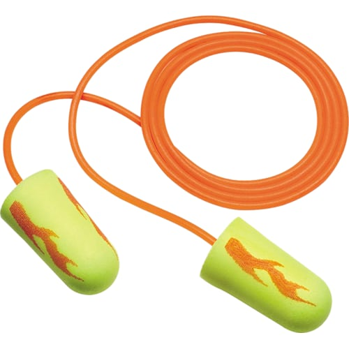 E-A-Rsoft Yellow Neons and Yellow Neon Blasts Disposable Foam Earplugs