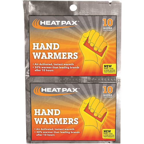 Hot Rod Hand Warmers, Heat Within 30 Minutes