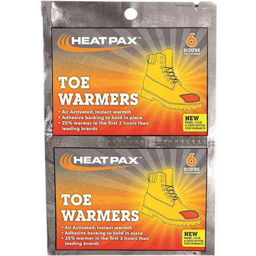 Hot Rod Toe Warmers, Heat Within 30 Minutes
