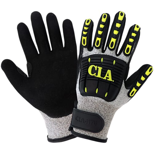 C.I.A. - Cut and Impact Resistant Nitrile-Dipped Gloves