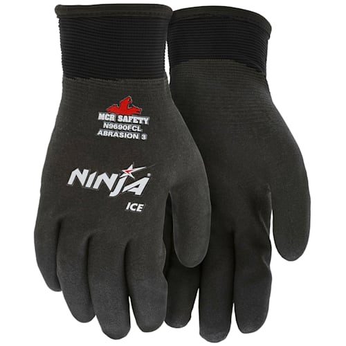 Memphis Ninja Ice Gloves - HPT Fully Coated for Cold Weather