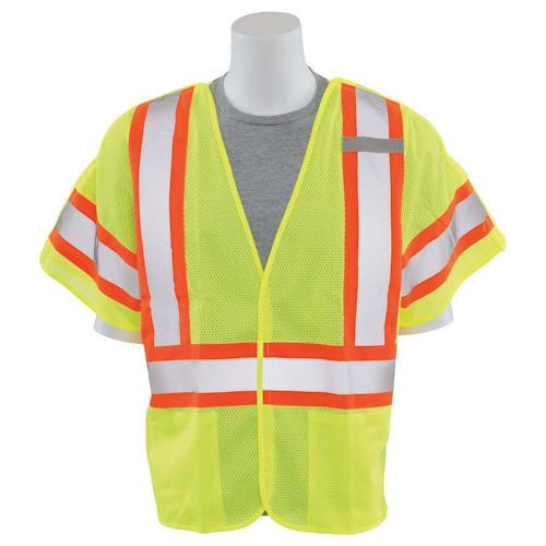 Class 3 Five-Point Mesh Break-Away Safety Vest