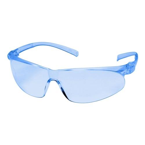 Virtua Sport Protective Eyewear, Light Blue Anti-Fog Lens