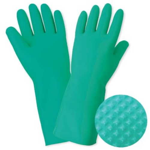 Unlined Nitrile Unsupported Gloves