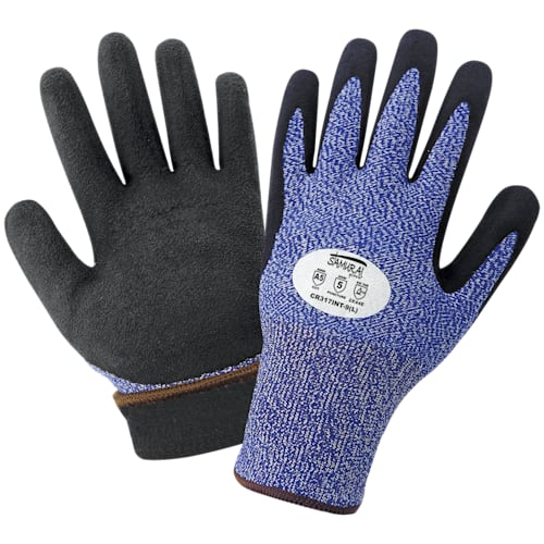 Insulated Water Repellent Dipped Samurai Gloves