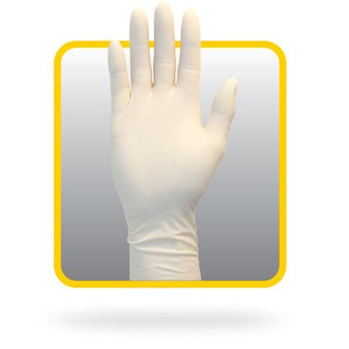 """12"""" Powder Free Natural Latex Gloves"""