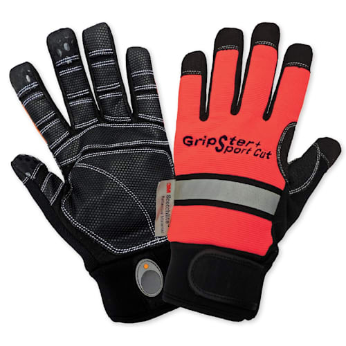 Gripster Cut Resistant High-Visibility Mechanics Gloves