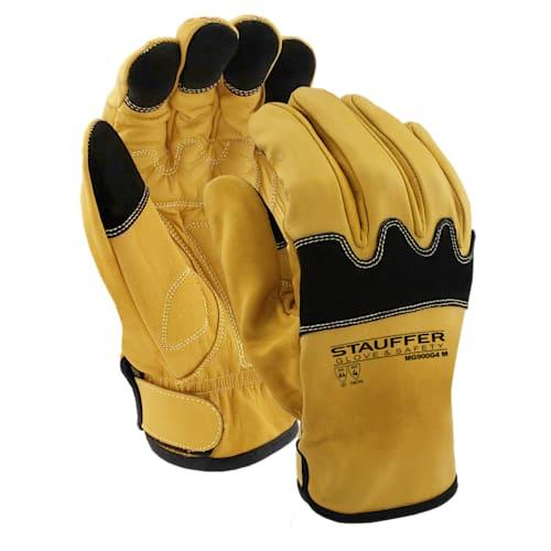 Goatskin Mechanic Gloves with Kevlar Liner, Cut Level A4