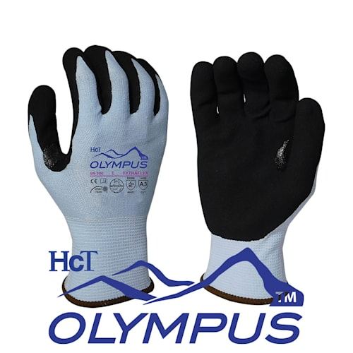Extraflex Cut Level A3 Gloves With 15 Gauge Engineered Yarn.