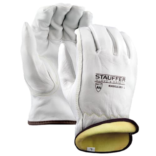 Goatskin Drivers Gloves with Kevlar Lining, Keystone Thumb
