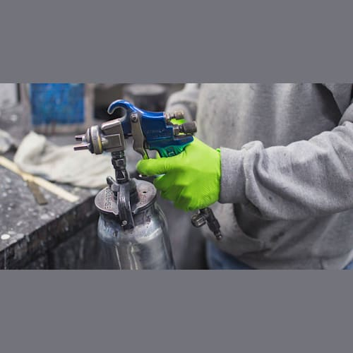 HD Green Nitrile Disposable Gloves