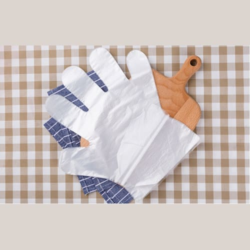 Disposable PE Gloves, Clear