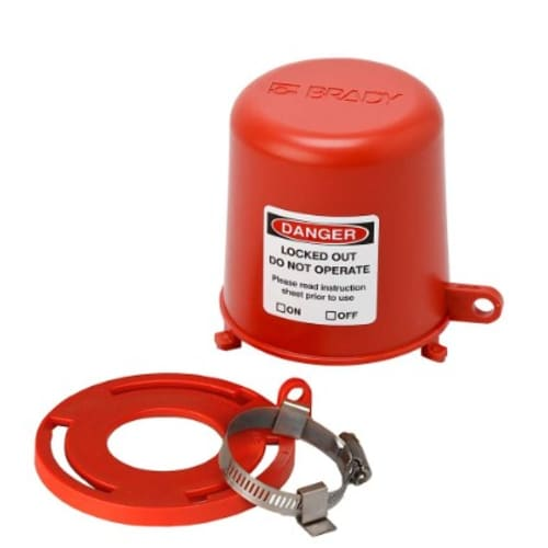 Drinking Fountain Safety Cover & Plug Valve Lockout