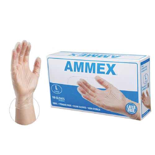 Exam Grade Power Free Vinyl Gloves