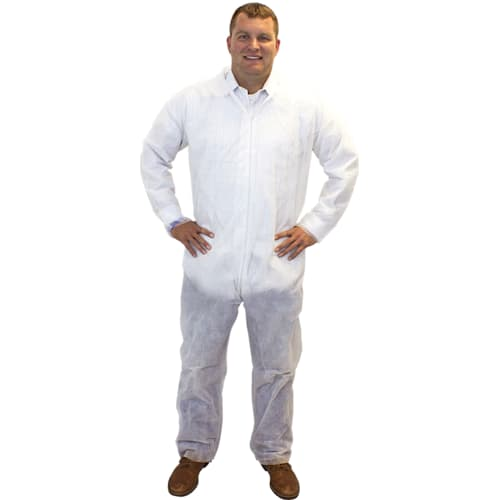 White PolyPro Coverall
