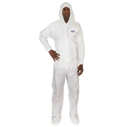 MicroGuard MP Coverall with Attached Hood & Boot