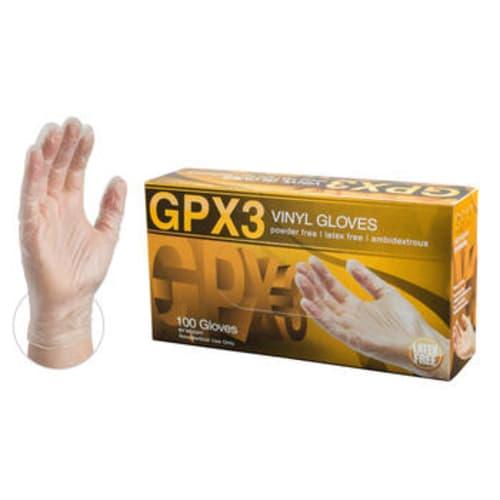 GPX3 Industrial Grade Vinyl Gloves