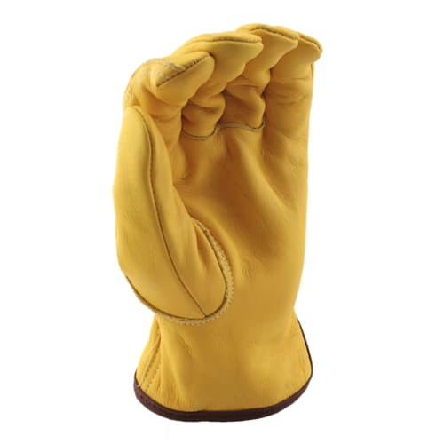 Cowhide Ground Gloves with Kevlar Liner, Cut Level A4