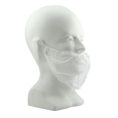 White Nylon Beard Cover