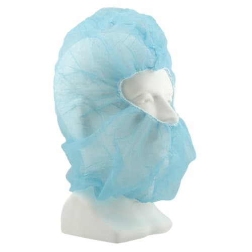 Blue Polypropylene Hood Cover