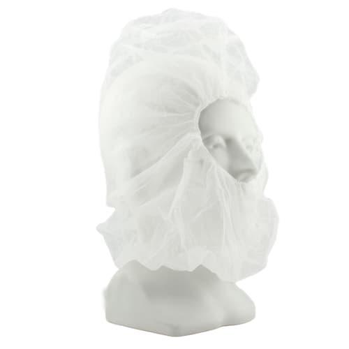 White Polypropylene Hood Cover