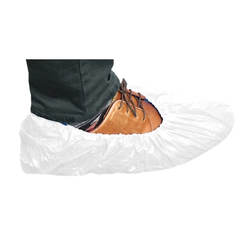 White Waterproof Shoe Cover