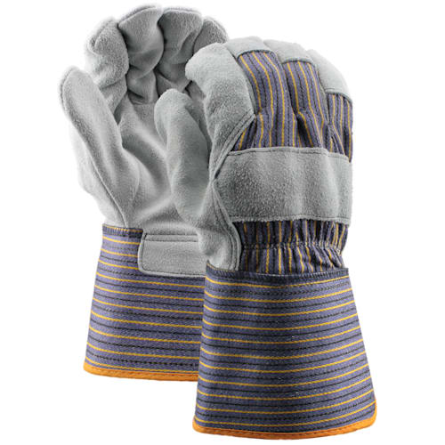 Leather Gloves with Gauntlet Cuff, Select Shoulder