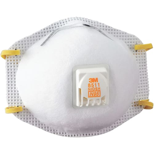N95 Particulate Respirator Mask, Cool Flow Exhalation Valve