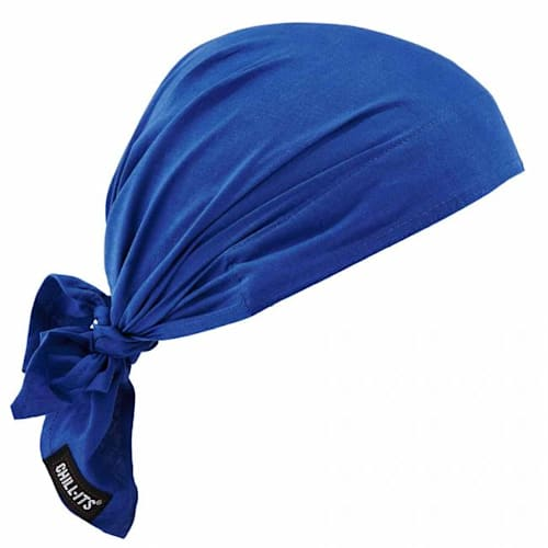 Chill-Its 6710CT Evap. Cooling Triangle Hat w/Cooling Towel