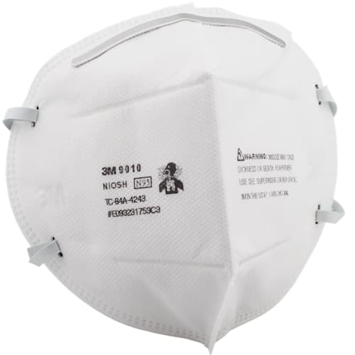 N95 Respirator Mask, Flat Fold