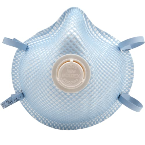 N95 Particulate Respirators with Exhale Valve