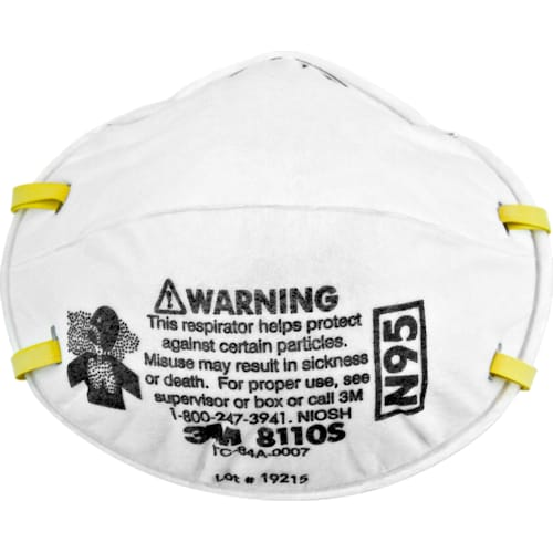 Particulate Respirator 8110S, N95