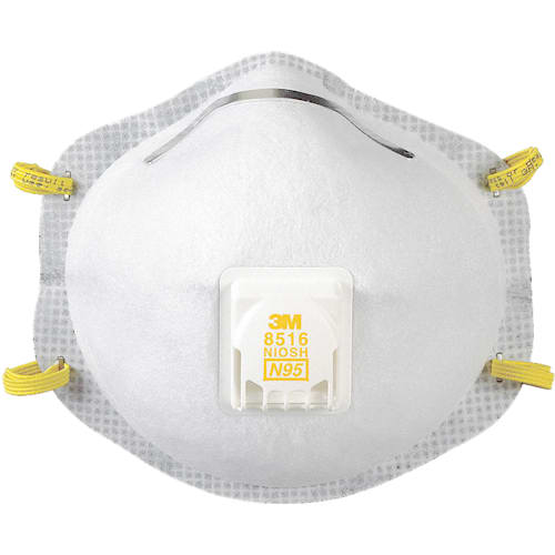 Particulate Respirator 8516, N95, with Nuisance Level* Acid Gas Relief