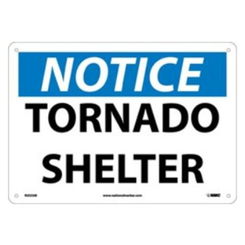 Sign, Notice- Tornado Shelter