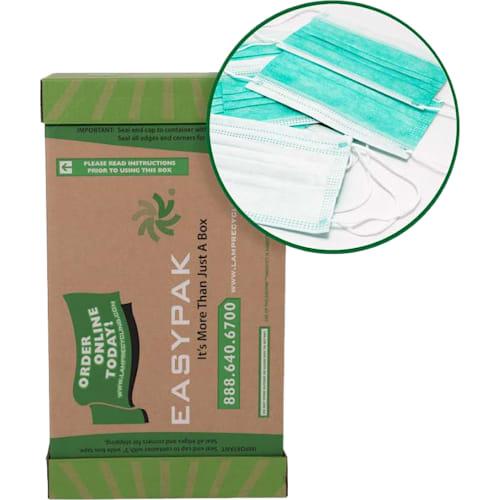 EasyPak Zero Waste Disposable Mask Recycling Box (Medium)