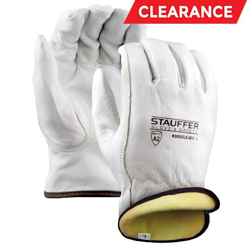 Goatskin Drivers Gloves with Kevlar Lining, Keystone Thumb